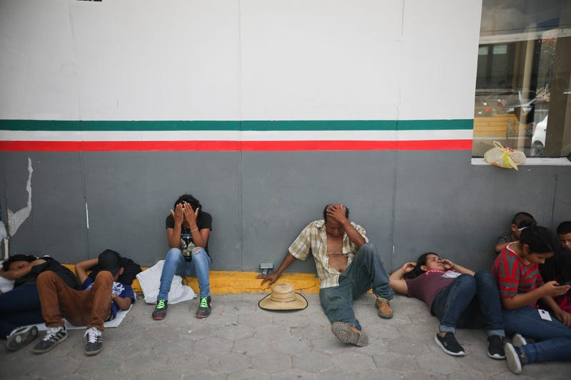 Immigration-Waiting in Mexico