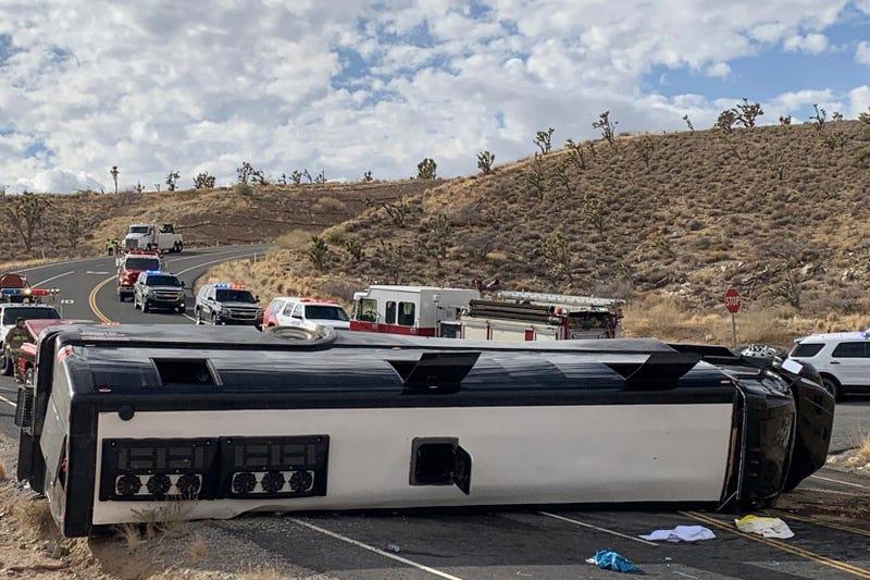 Bus Rollover Grand Canyon