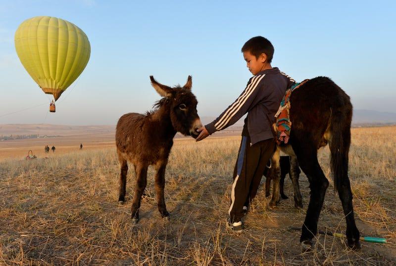 APTOPIX Kyrgyzstan Village Photo Gallery