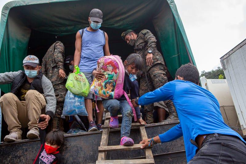 Guatemala Honduras Migrant Caravan