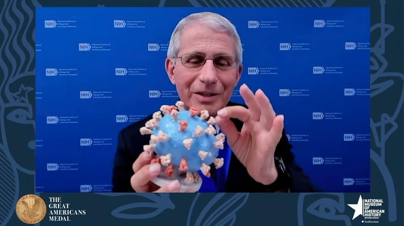 Virus Outbreak Fauci Smithsonian
