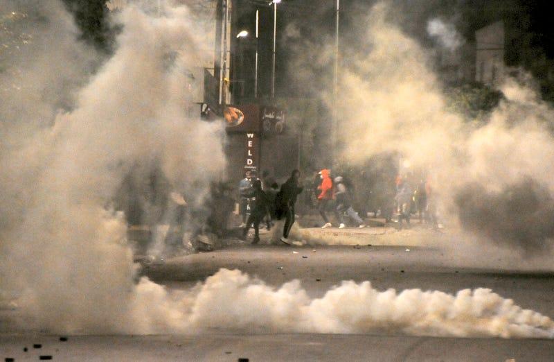 Tunisia The Protesters