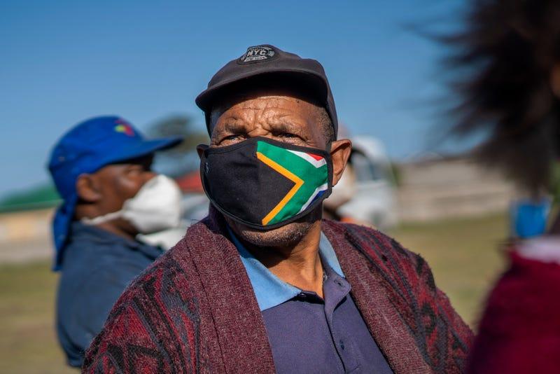 Virus Outbreak South Africa Vaccine Train