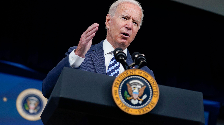 Biden says Ida, wildfires show 'climate crisis' has struck