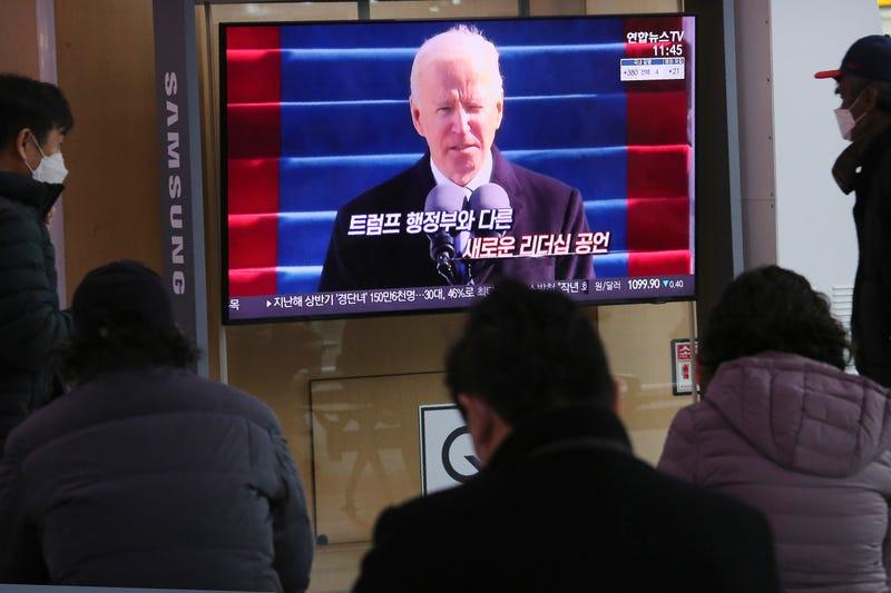 Biden Inauguration South Korea