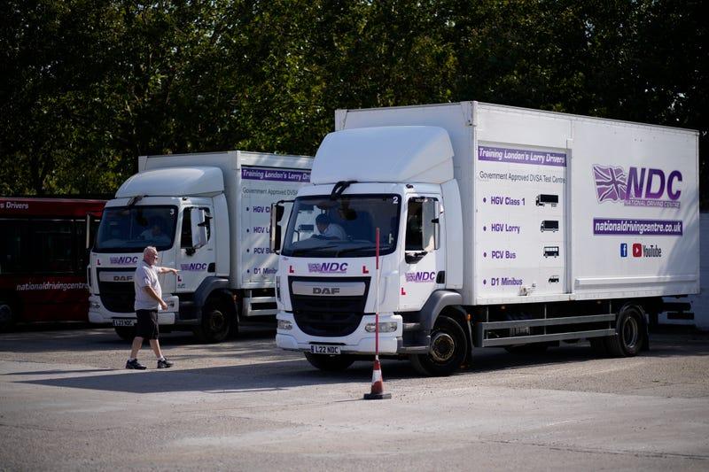 Britain Truck Driver Shortage