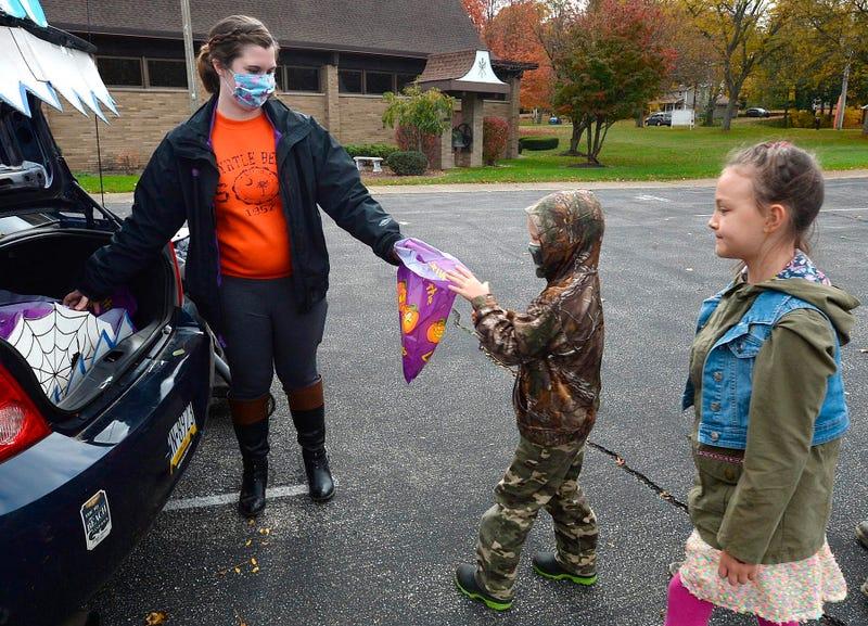 Virus Outbreak Pennsylvania Halloween