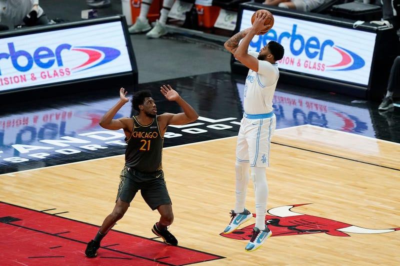 Lakers Bulls Basketball