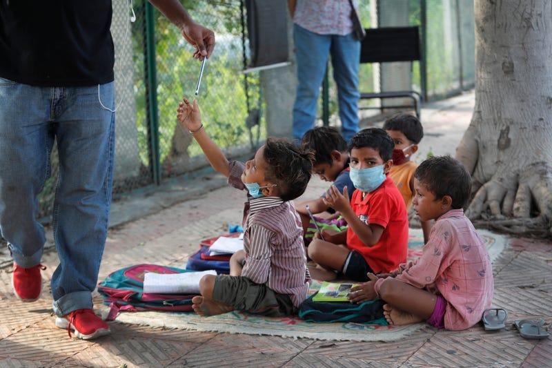 Virus Outbreak One Good Thing India Street School