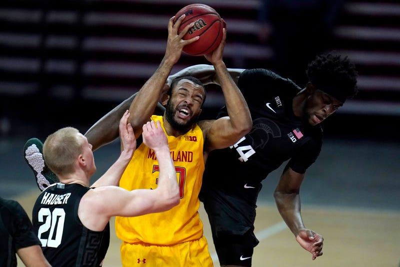 APTOPIX Michigan State Maryland Basketball