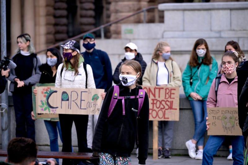 Sweden Climate Protest