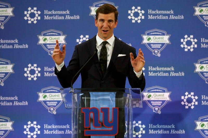 Giants Manning Football