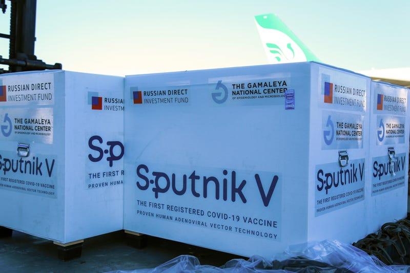 Virus Outbreak Russia Vaccine Exports