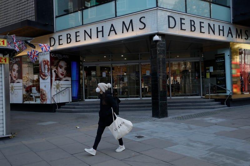 Virus Outbreak Britain Retailing Woes
