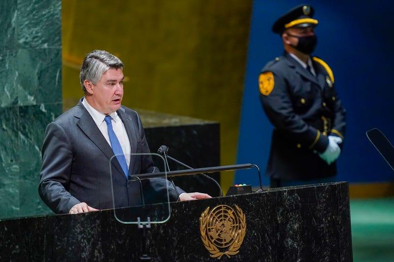 UN General Assembly Croatia