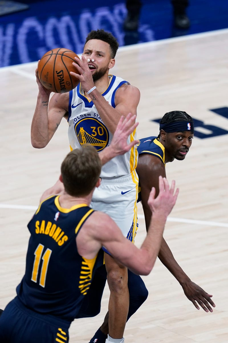 Warriors Pacers Basketball