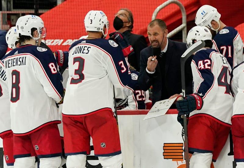 Blue Jackets Coach Hockey