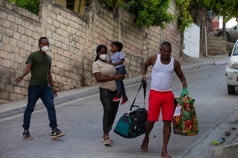 Haiti US Deported Migrants