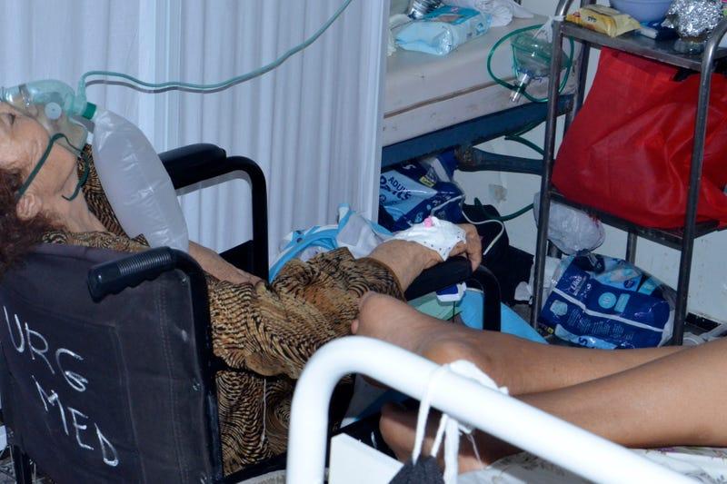 Virus Outbreak Tunisia Oxygen