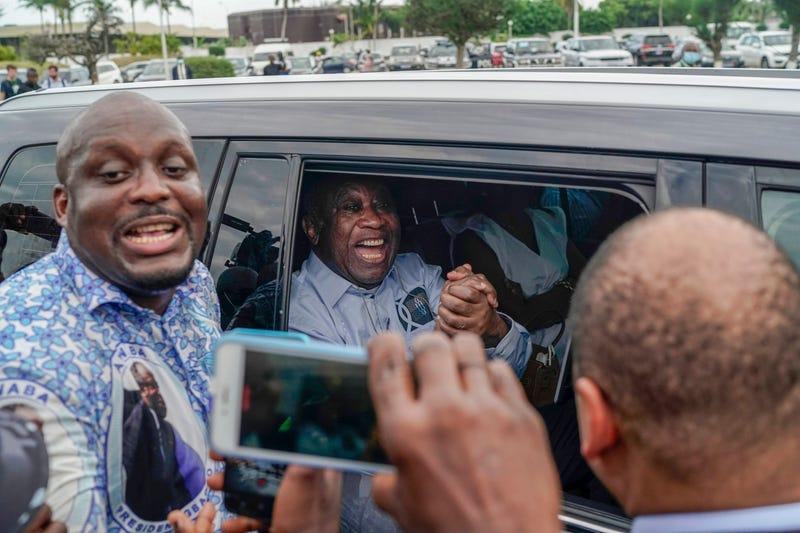 APTOPIX Ivory Coast Gbagbo's Return