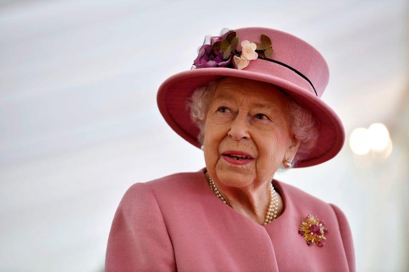 Virus Outbreak Britain Queen