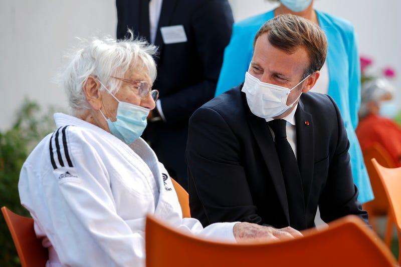 Virus Outbreak France Nursing Homes