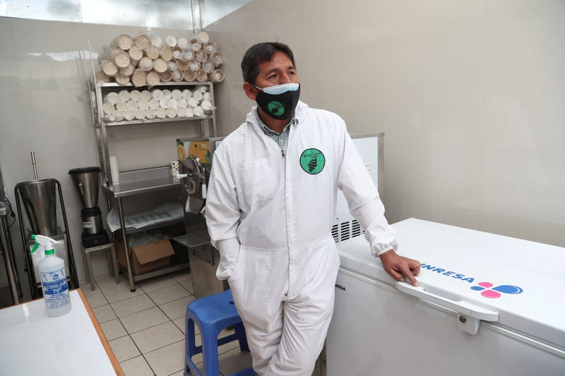 Virus Outbreak Peru Tourism