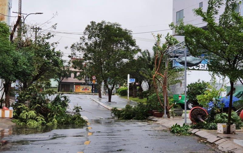 Vietnam Asia Typhoon