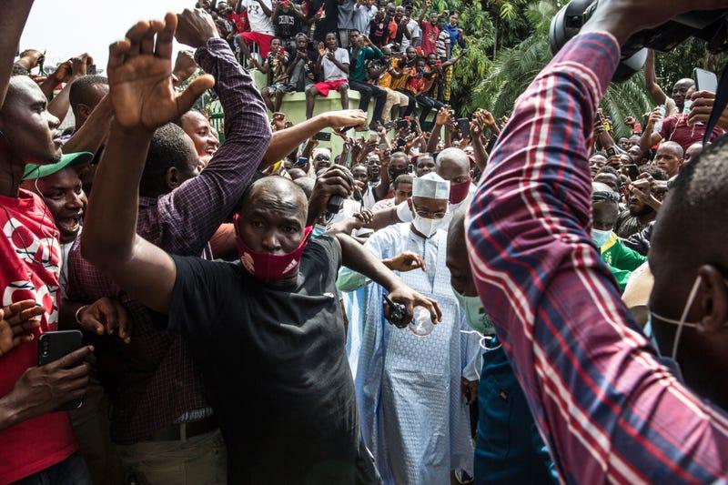 APTOPIX Guinea Elections