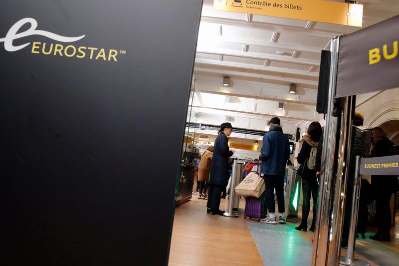 Virus Outbreak France Eurostar