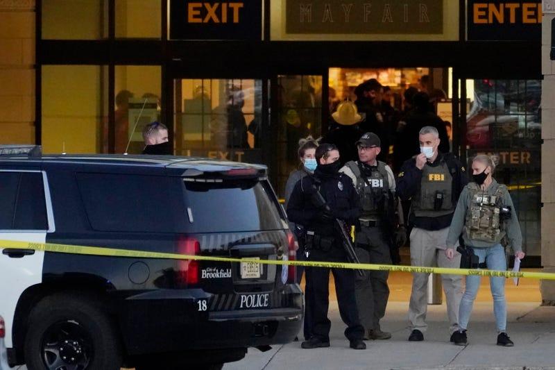 APTOPIX Mall Incident Wisconsin