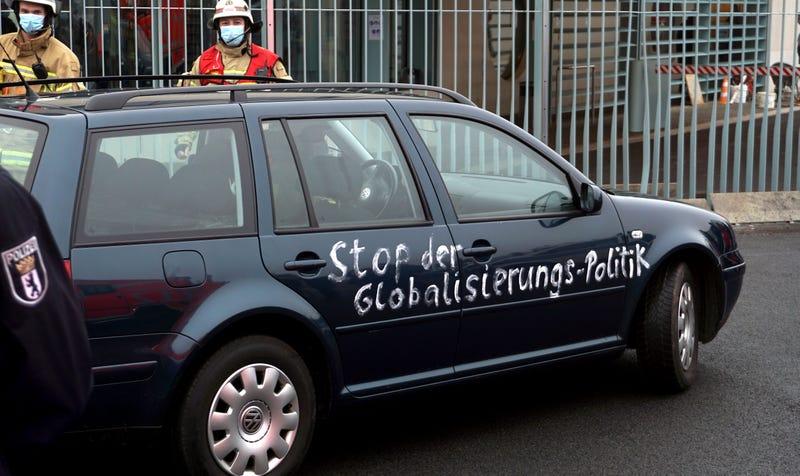 Germany Chancellery Chrash