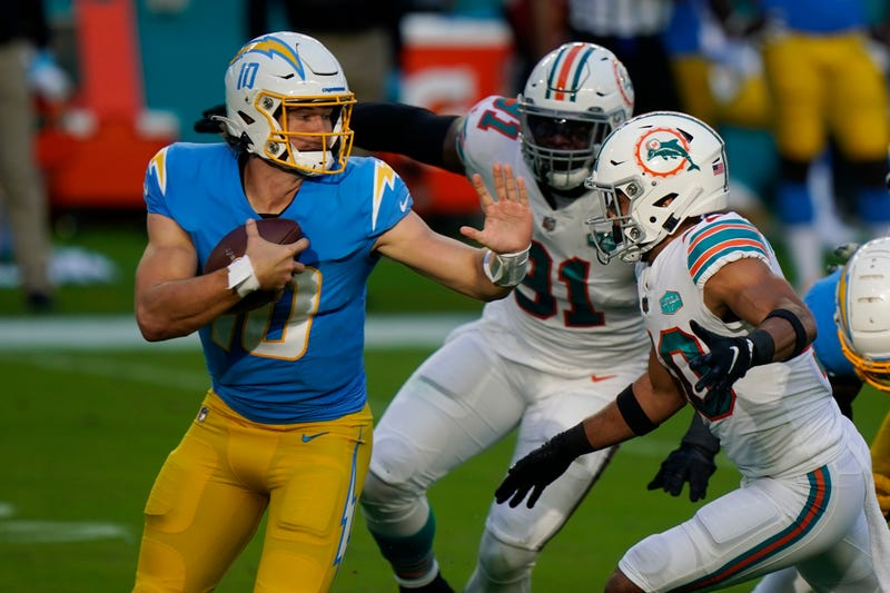 Chargers Dolphins Football