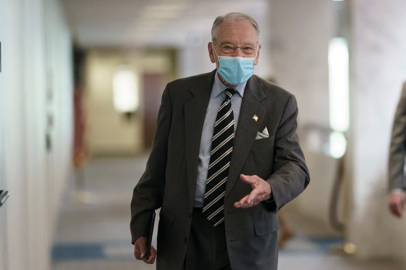 Virus Outbreak Grassley