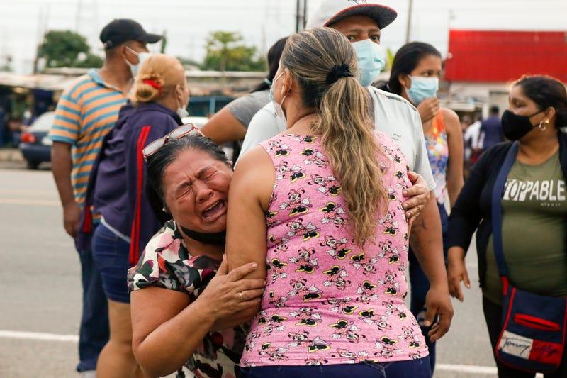 APTOPIX Ecuador Jail Riots
