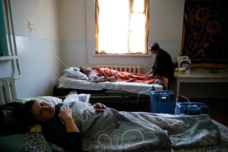 Virus Outbreak Nagorno Karabakh