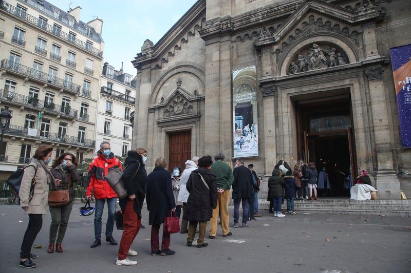Virus Outbreak France Religion