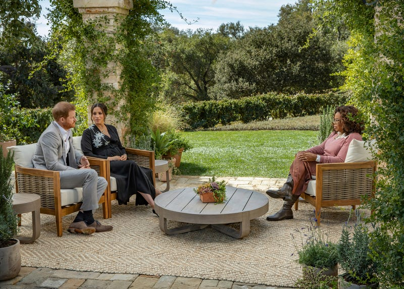 Oprah Meghan and Harry Interview