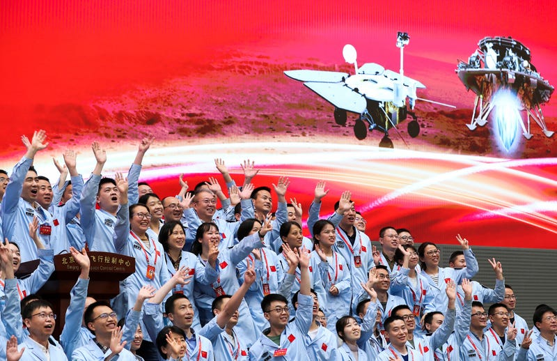 China Space Mars Mission