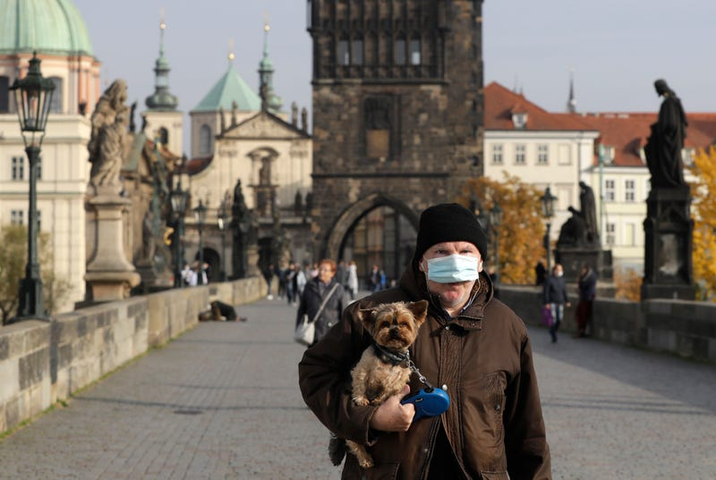 APTOPIX Virus Outbreak Czech Republic