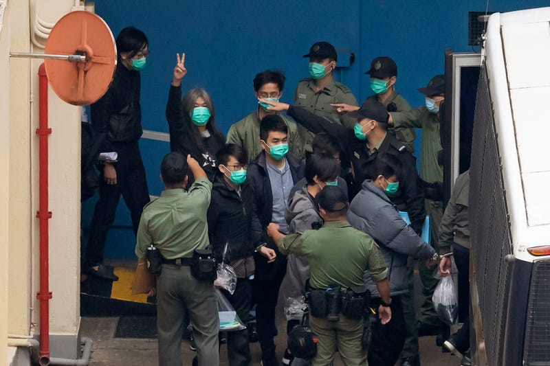 Hong Kong China Politics