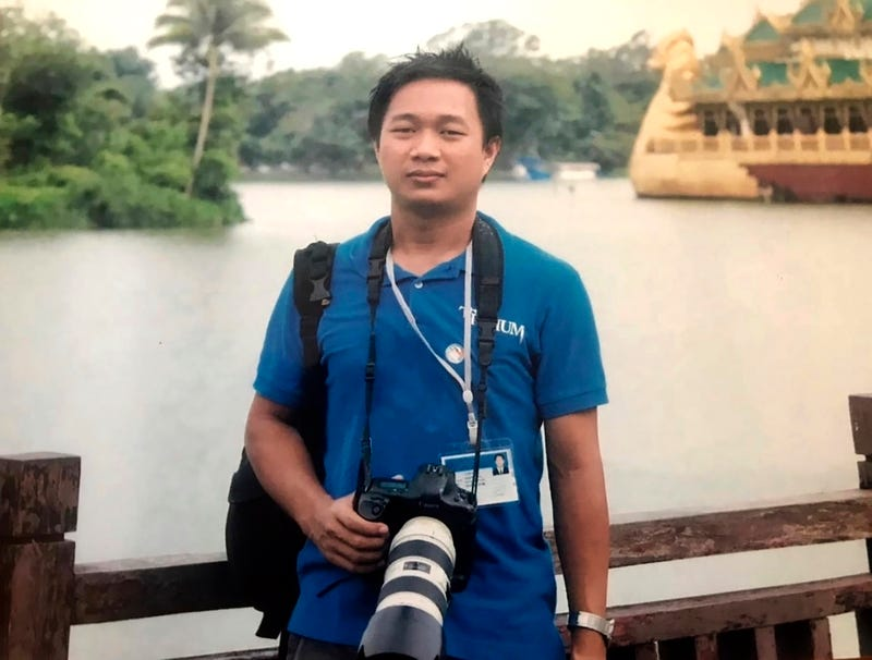Myanmar Journalist Charged