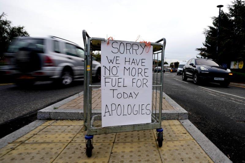 APTOPIX Britain Shortages