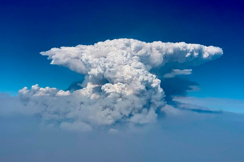 Western Wildfires Fire Clouds Explainer
