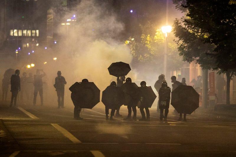 APTOPIX Portland Protest