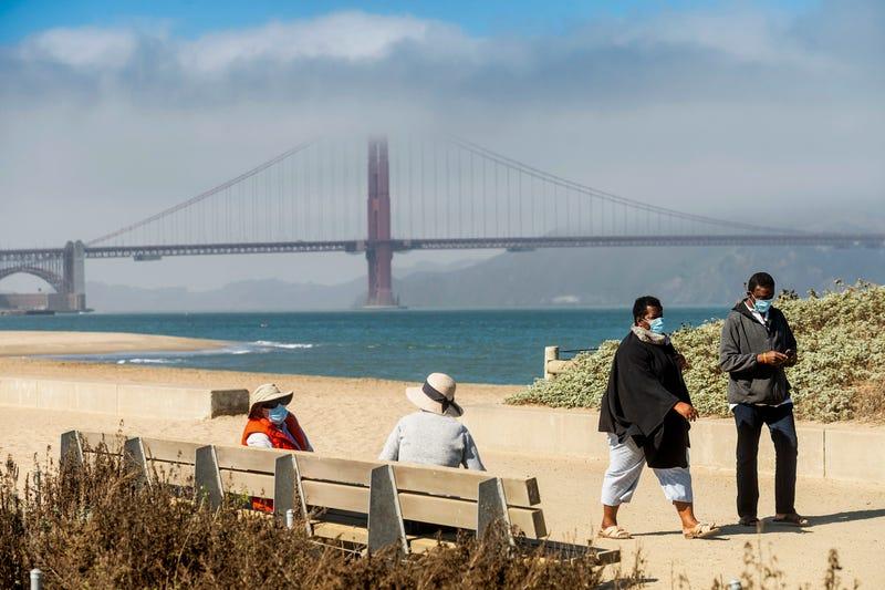 Virus Outbreak Empty San Francisco