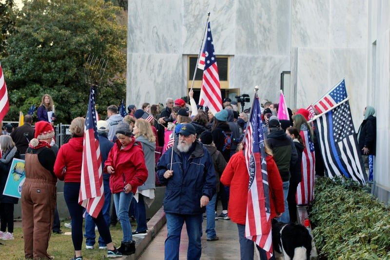 Capitol Protest Oregon