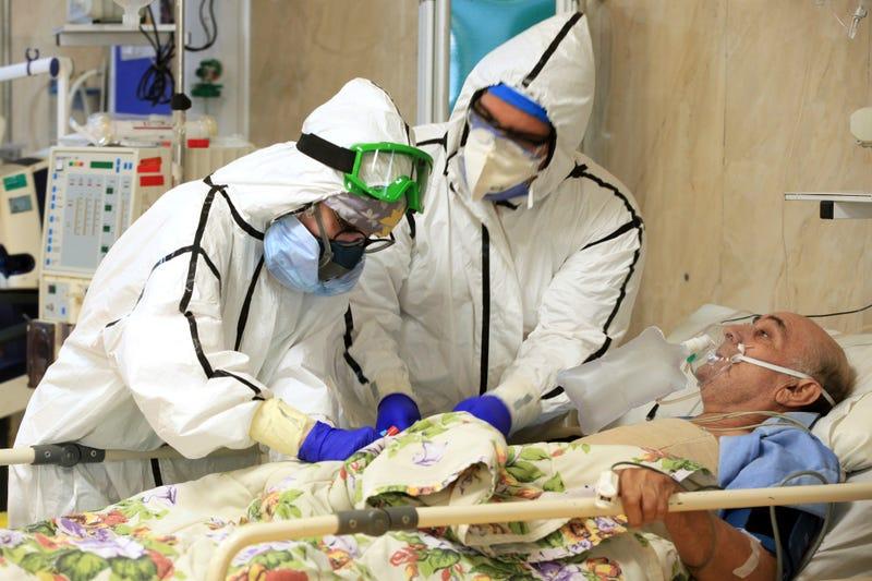 Virus Outbreak Iran Surging Deaths