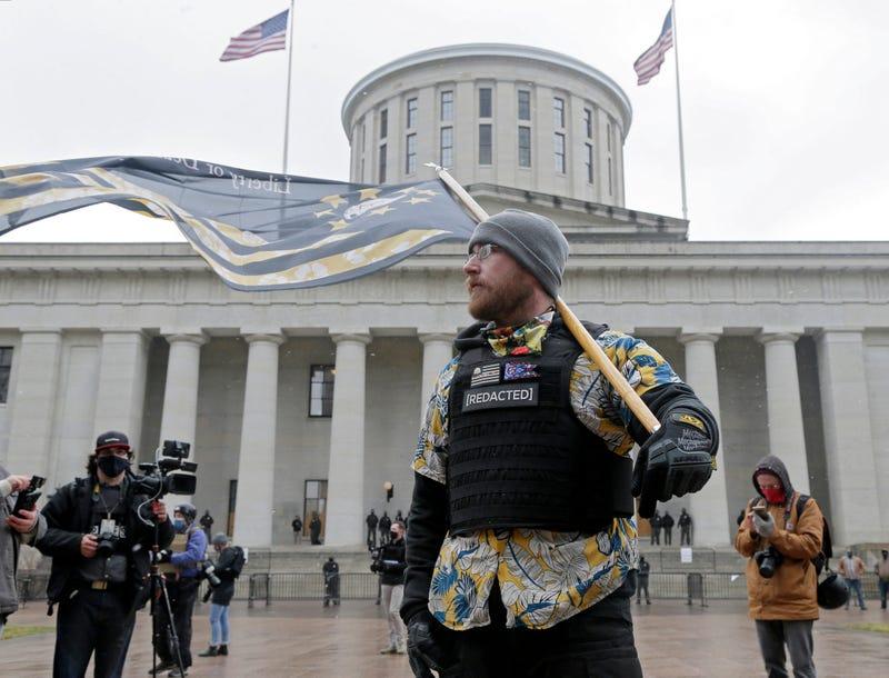 Capitol Breach Demonstrations Ohio