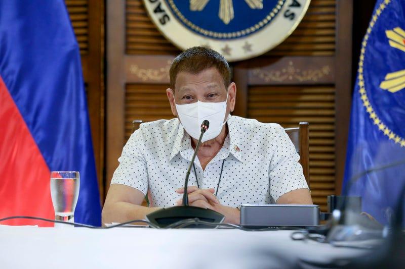 Virus Outbreak Philippines Duterte